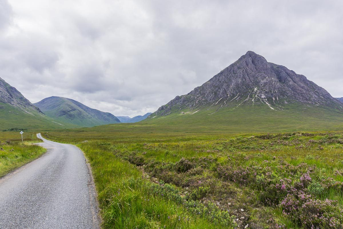 Driving into Glencoe - Planning a Trip to Scotland