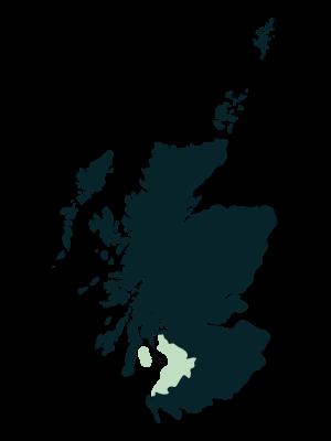 Ayrshire & Arran Map
