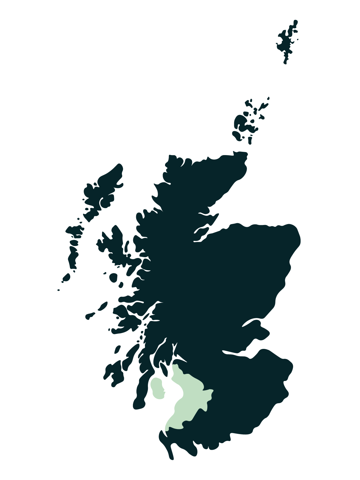 Ayrshire & Arran Map
