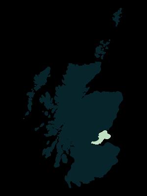 Kingdom of Fife map