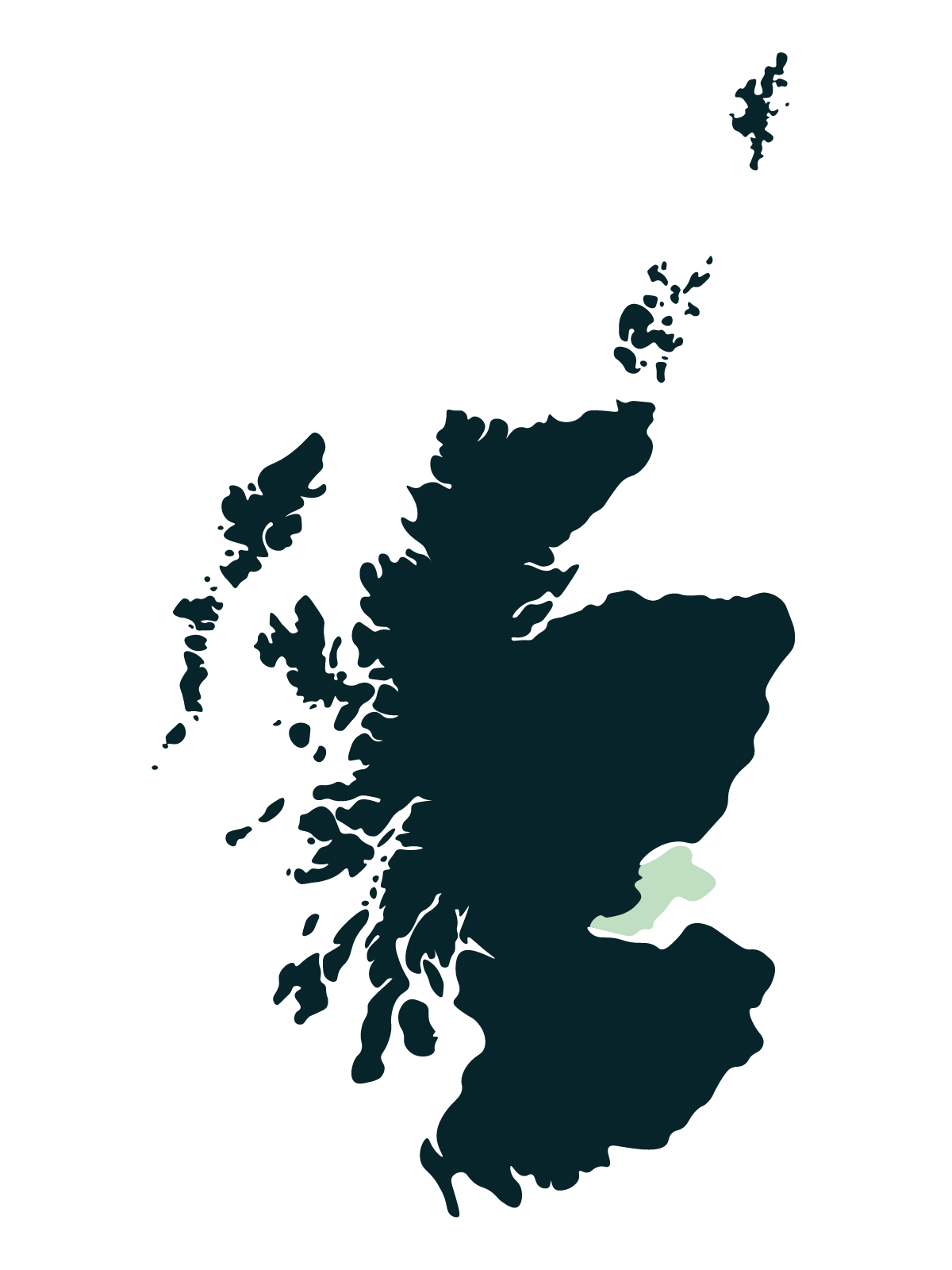 Kingdom of Fife map