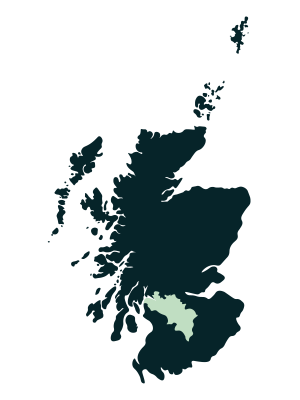 Glasgow & The Clyde Valley Map