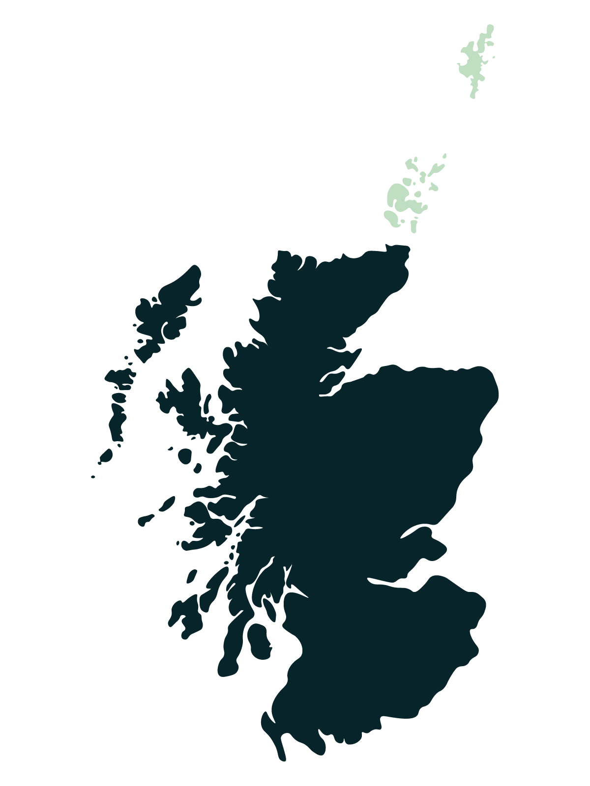 Orkney & Shetland Map