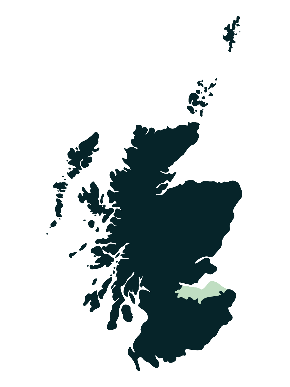 Edinburgh & The Lothians Map