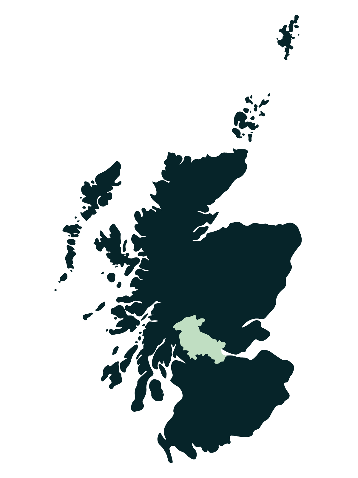 Trossachs and Stirlingshire Map